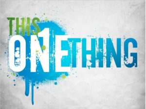 one-thing